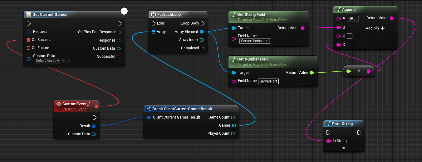 Ue4 blueprint decodegetmatchmakergameinforesult playfab community ill be the first to admit that this is obviously not optimal these objects dont seem to be decoded properly into the expected types but rather just as malvernweather Image collections