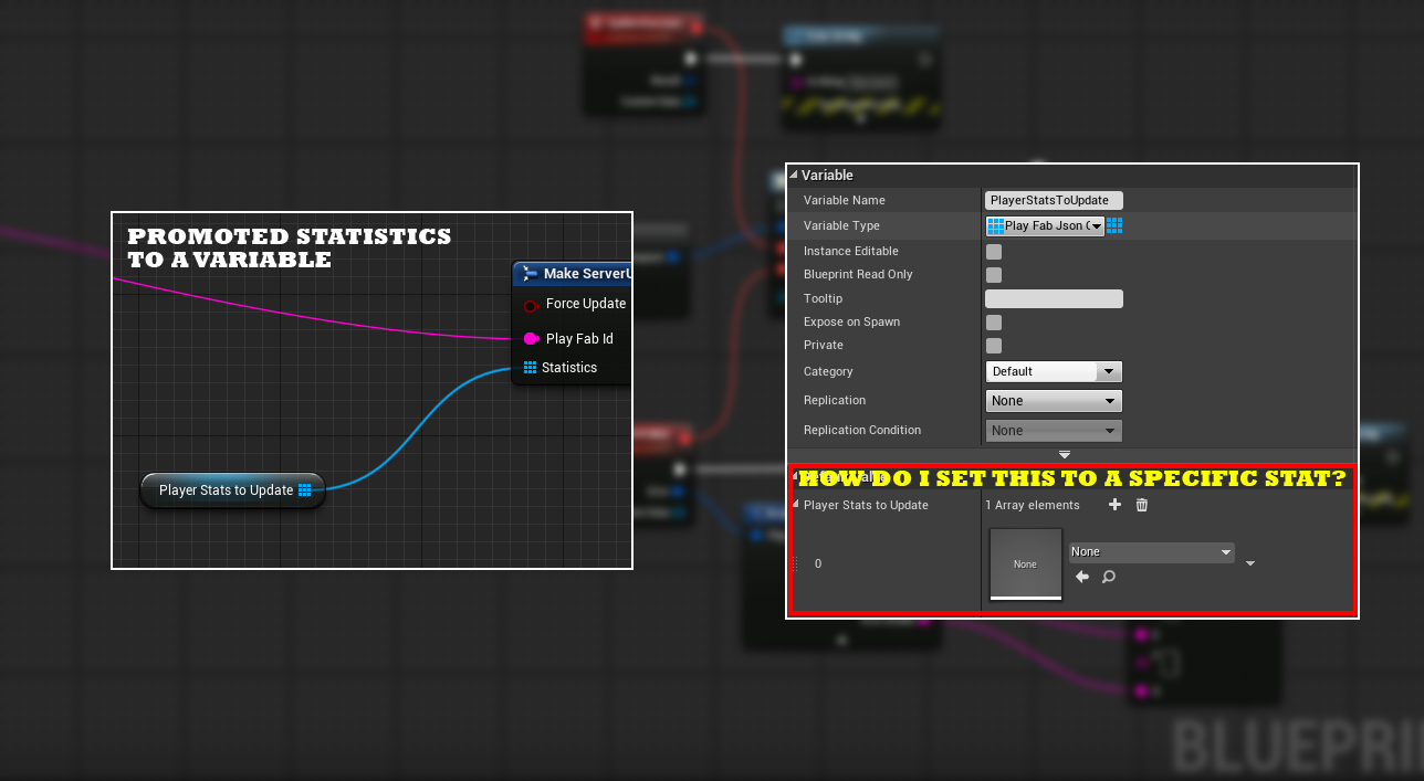 Ue4 blueprint setting player statistics server side playfab playfabupdatestatpost2g malvernweather Image collections