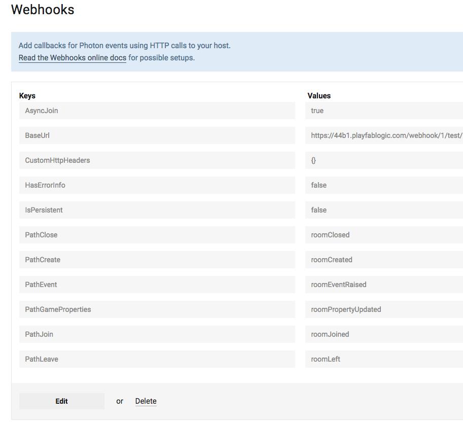 Photon WebHooks not triggered (redux)  - Playfab Community